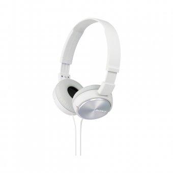 Fone de Ouvido Sony Headphone com Microfone integrado MDR-ZX310AP Branco