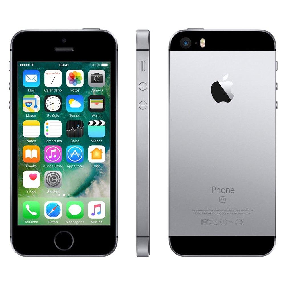 iPhone SE Cinza Espacial 32GB Apple