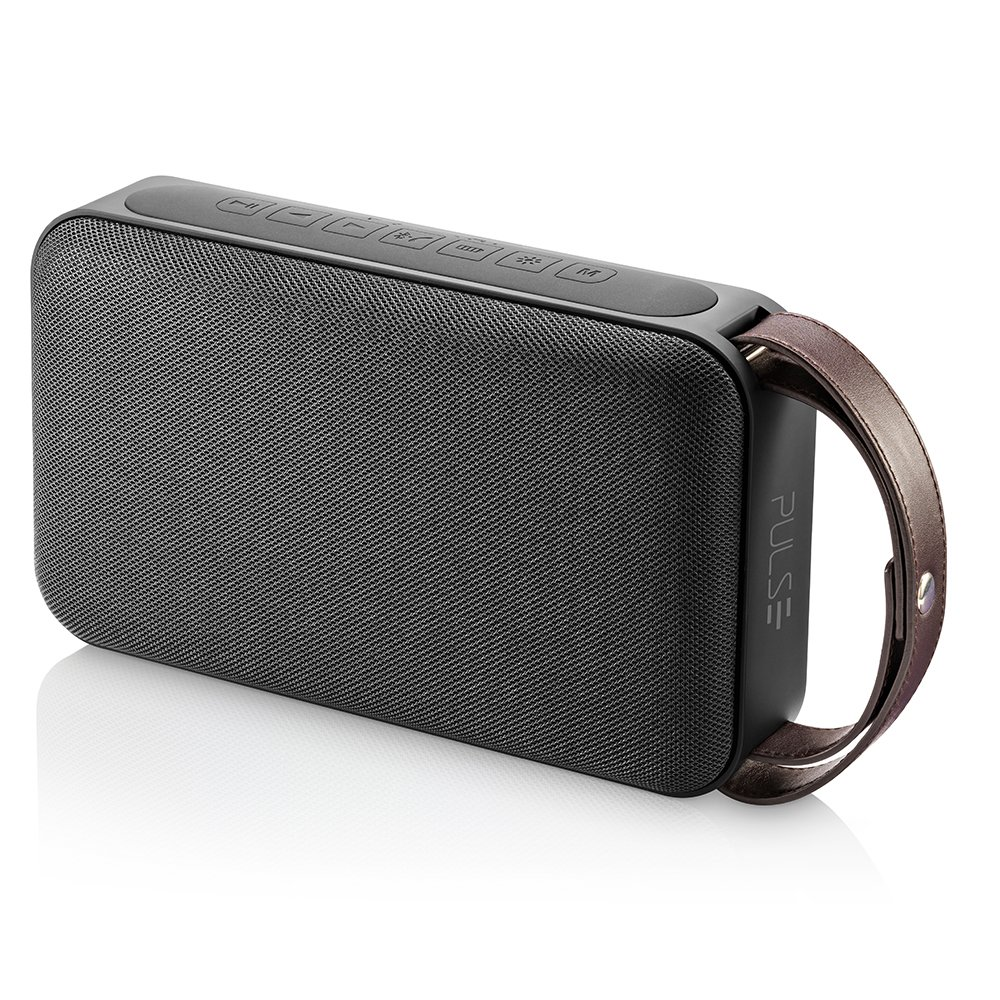 Caixa de Som Pulse Alça Portátil Bluetooth Preto SP235 Multilaser