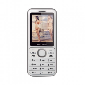 Celular Multilaser View Dual TV P3267 Branco