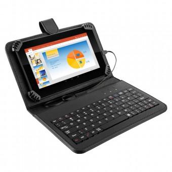 Tablet Multilaser M7S Preto com Teclado e Capa NB196