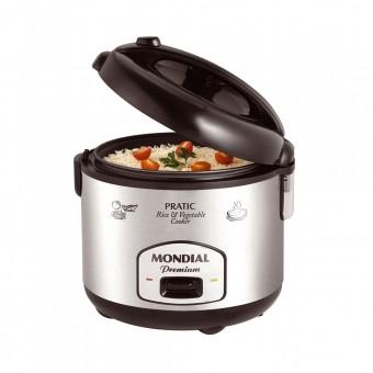 Panela Elétrica Pratic Rice e Vegetables 4 Premium PE-04 Preto Inox 127V