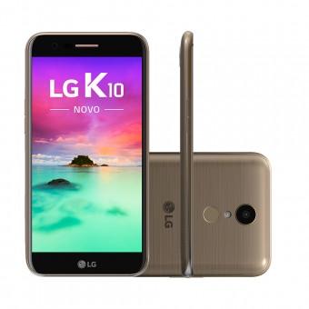 Imagem - Smartphone LG K10 Novo M250DS Dourado