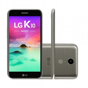 Smartphone LG K10 Novo M250DS Titânio