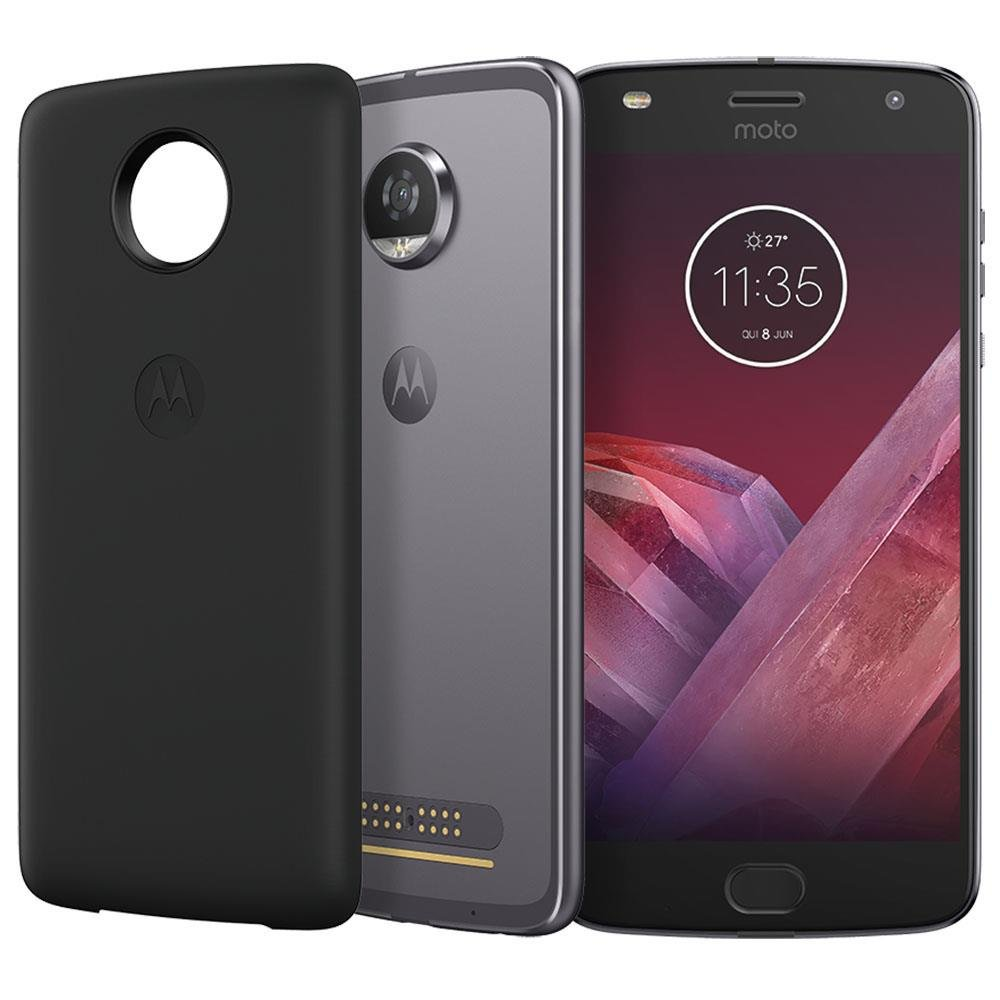 Smartphone Motorola Moto Z2 Play Power Edition XT1710-07 Platinum