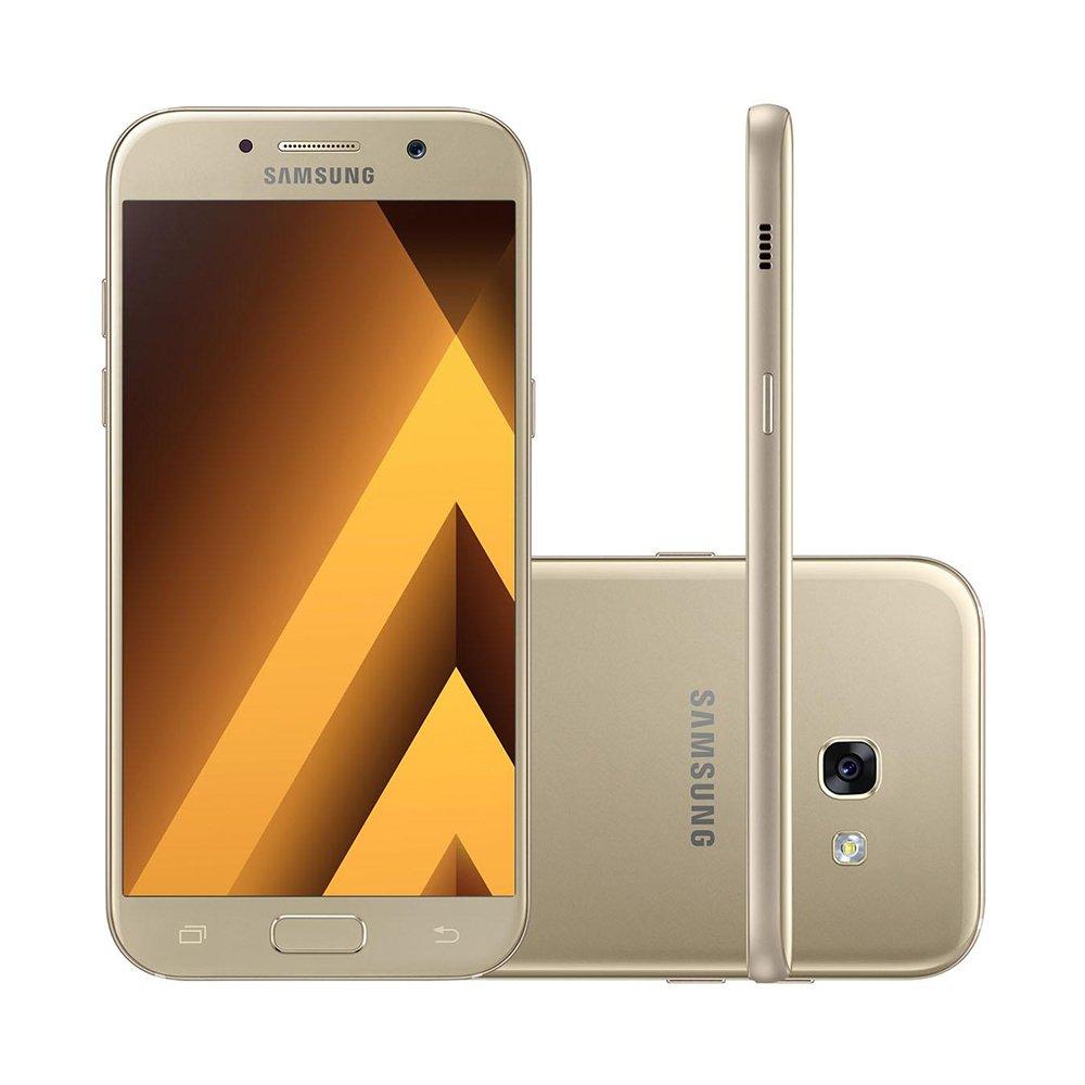 Smartphone Samsung Galaxy A7 Duos 2017 A720F Dourado