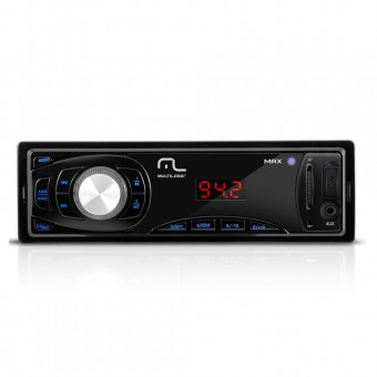 Som Automotivo Multilaser Max Mp3 Player Entradas USB SD E Aux P3208