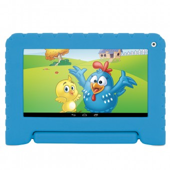 Tablet Galinha Pintadinha 8GB Wifi Azul Multilaser NB249