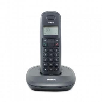 Telefone Sem Fio Digital até 5 Ramais com Id de Chamadas Preto VT600 Vtech
