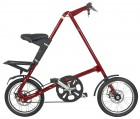 Bicicleta Dobr�vel Vermelha - Cicla