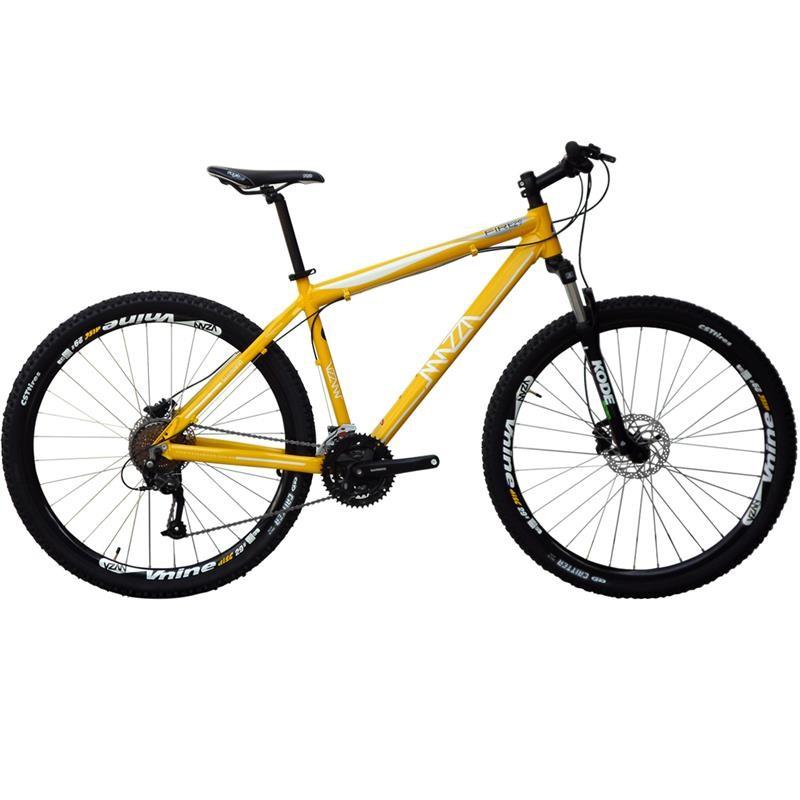 Bicicleta Mazza Fire 112 Disc M T17 Aro 29 Susp. Dianteira 21 Marchas - Amarelo