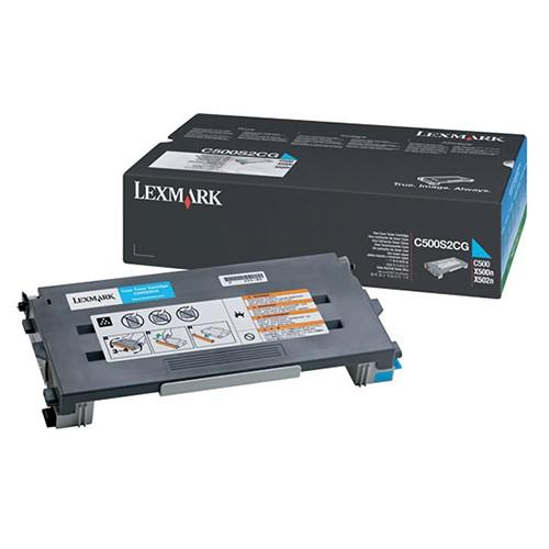 Toner Lexmark Azul C500s2cg