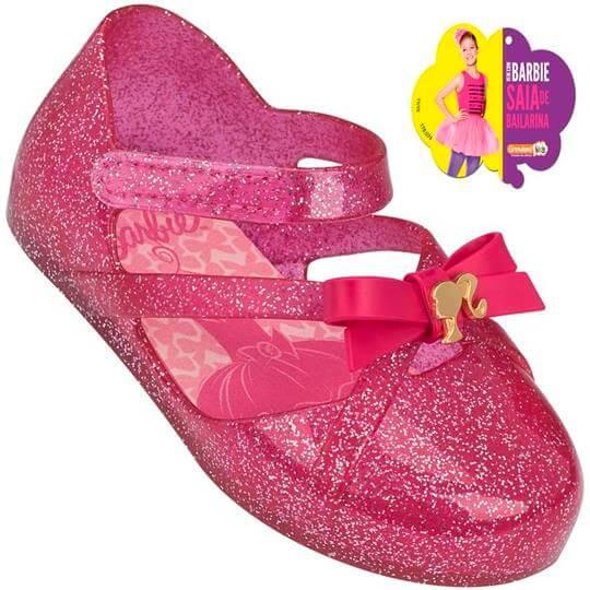 Sapatilha Infantil Barbie Ballet Baby Feminina