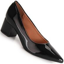 Sapato Scarpin Vizzano Verniz Cintilante Feminino