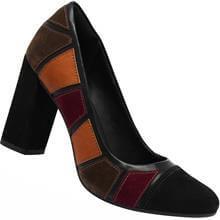 Sapato Scarpin Dakota Indin Recorte Feminino