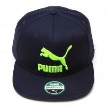 Boné Puma LS Colourblock Aba Reta Masculino