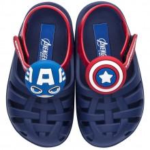 Sandália Infantil Avengers Kawaii Capitão América Baby