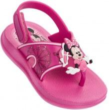 Sandália Infantil Mickey e Minnie Summer Time Baby Feminina