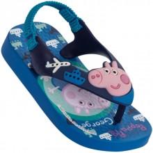 Sandália Infantil Peppa Pig George Baby Masculina