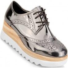 Sapato Moleca Oxford Plataforma Feminino