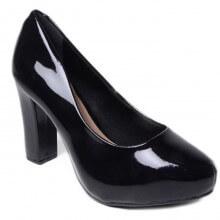 Sapato Scarpin Beira Rio Verniz Cristal Feminino