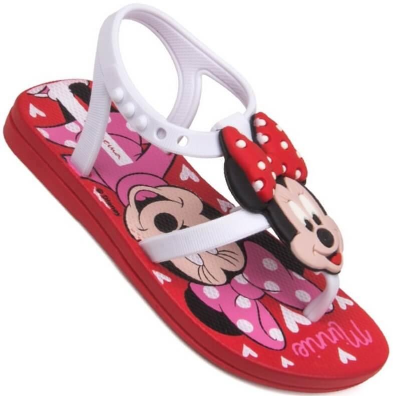 Sandália Bebê Ipanema Love Disney Minnie Feminina   Netshoes