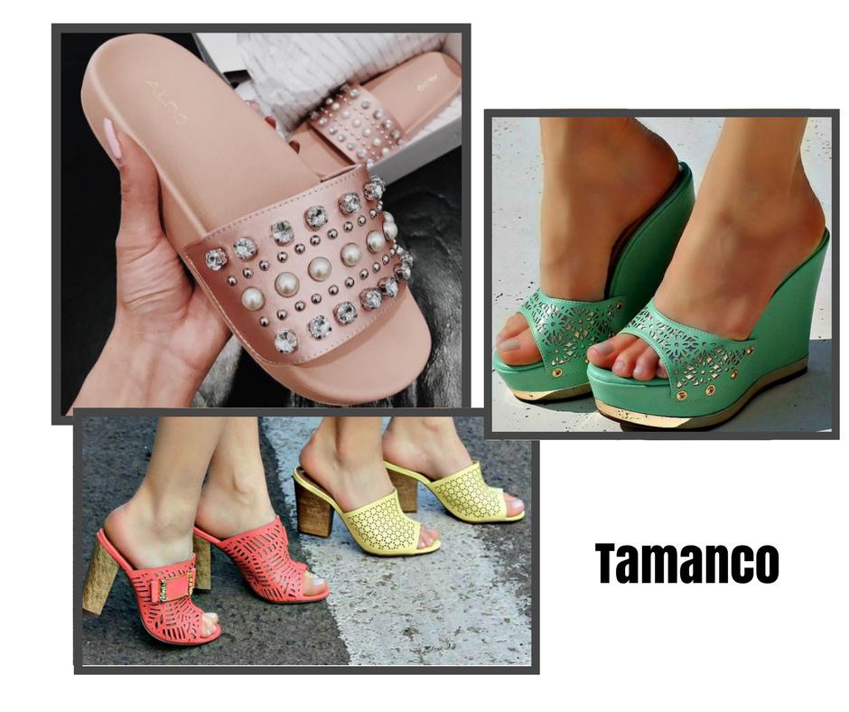 d2775d115 Uma dica  o tamanco deve compor looks diurnos por ser um calçado moderno e  descontraído.