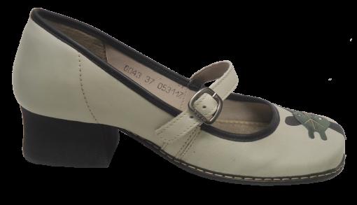 Sapato Confortável JGean CK0043 Girafa