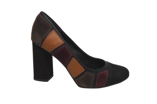 Scarpin Dakota B7832 patchwork
