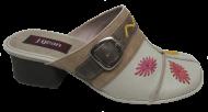Mule Feminina Confortável Jgean CK0062 Couro