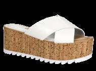 Tamanco Feminino Dakota Z2302 Flatform Branco
