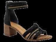 Sandália Preta Dakota Z1253 Confortável