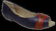 Peep Toe Comfortflex 1576303 Marinho