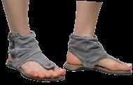 Sandália Aye Aye 304057 Jeans