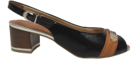 Sandália Comfortflex 1692401 Conforto Preta
