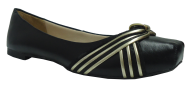 Sapatilha Extravasa 76-1134 Preto/ouro