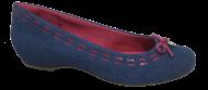 Sapatilha Numeração Especial Feminina Anaflex 363004B Jeans