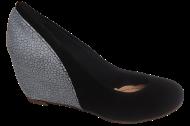 Sapato Anabela 4341 Luxfor Preto