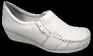 Sapato Feminino Branco Comfortflex 1793403 - Linha Hospitalar