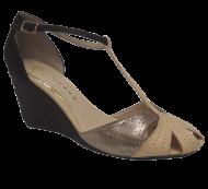 Sapato Anabela Mix Urbano 6251