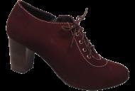 Sapato Abotinado Levina Alves 05-718 Vinho