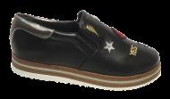 Sapato Flatform Cristófoli 176593 Enfeites