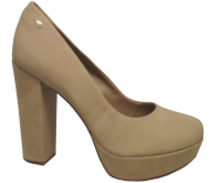 Sapato Dakota B8041 Meia Pata Nude