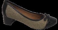 Sapato Marlinês 6345A Salto Bloco