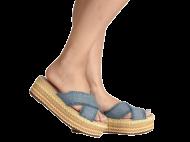 Tamanco Anabela Flatform Dakota Z2281 Jeans