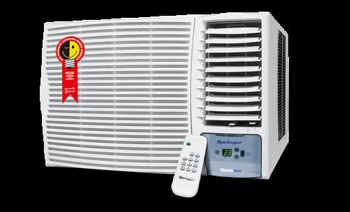 Ar Condicionado Janela Eletrônico Springer Silentia 21000 BTU Quente e Frio - 220V