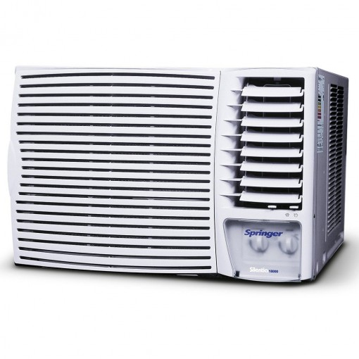 Ar Condicionado Janela Springer Silentia Mecânico 18000 BTU Quente e Frio 220v