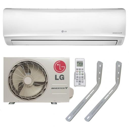 Ar Condicionado Split LG Libero E+ Inverter 9000 BTU Frio 220v + Suporte 400mm