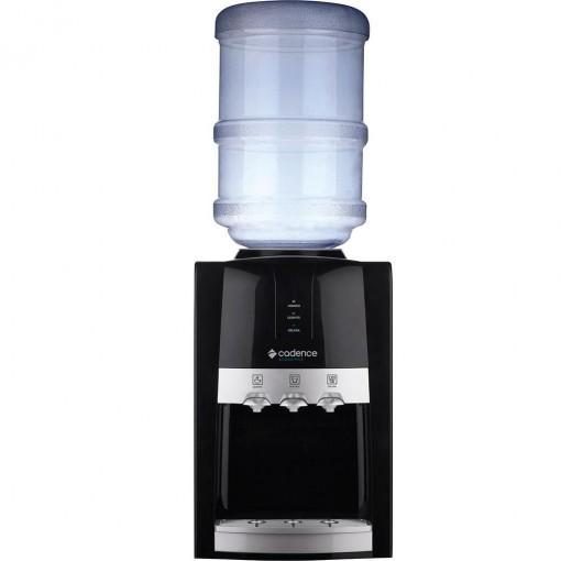 Bebedouro Cadence Acqua Plus Mesa 20 Litros Quente e Frio Preto