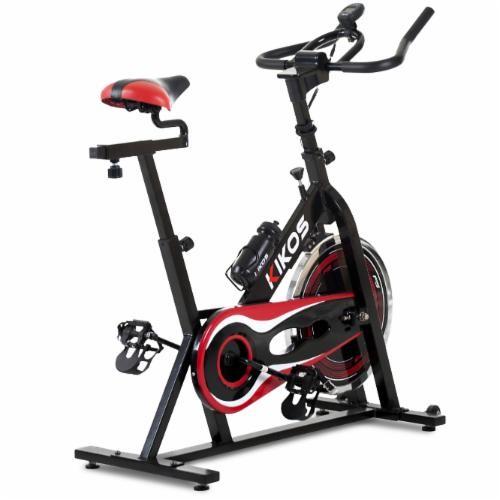 Bicicleta Ergométrica Kikos F5 Spinning até 100Kg Display Scan